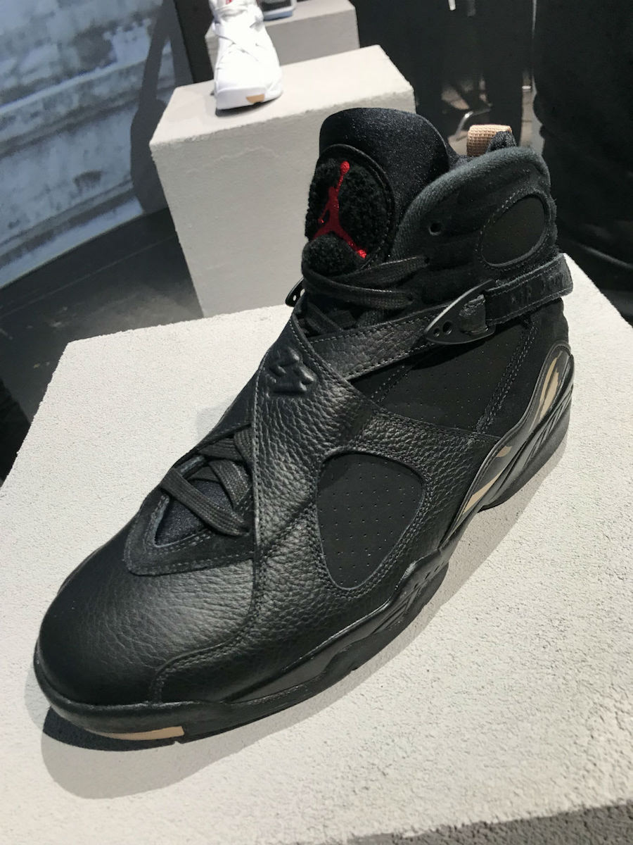 OVO Air Jordan 8 Retro Black AA1239-045 Release Info