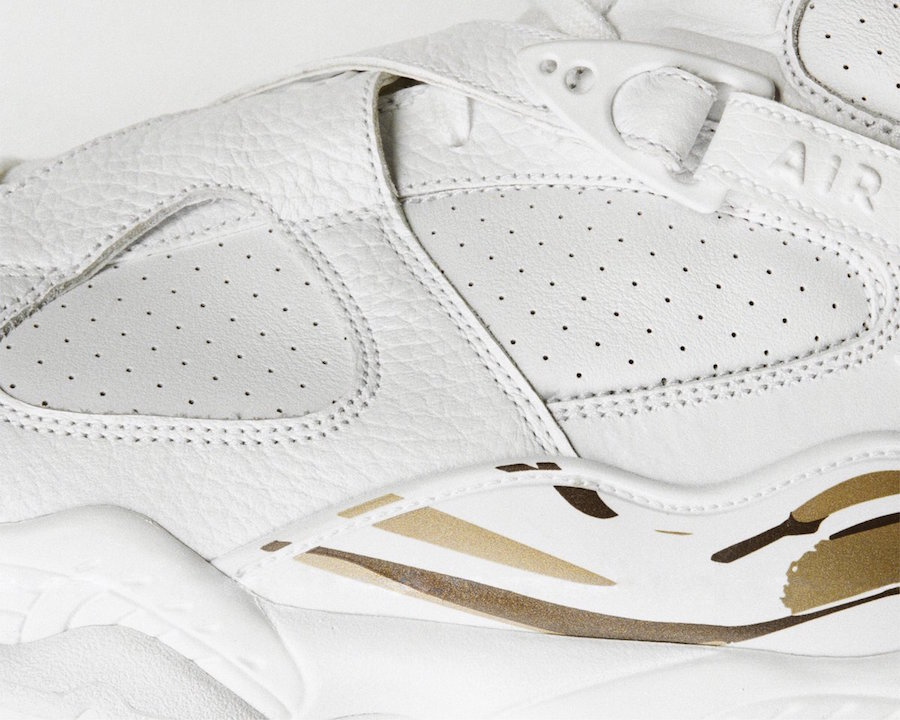 OVO Air Jordan 8 White AA1239-135