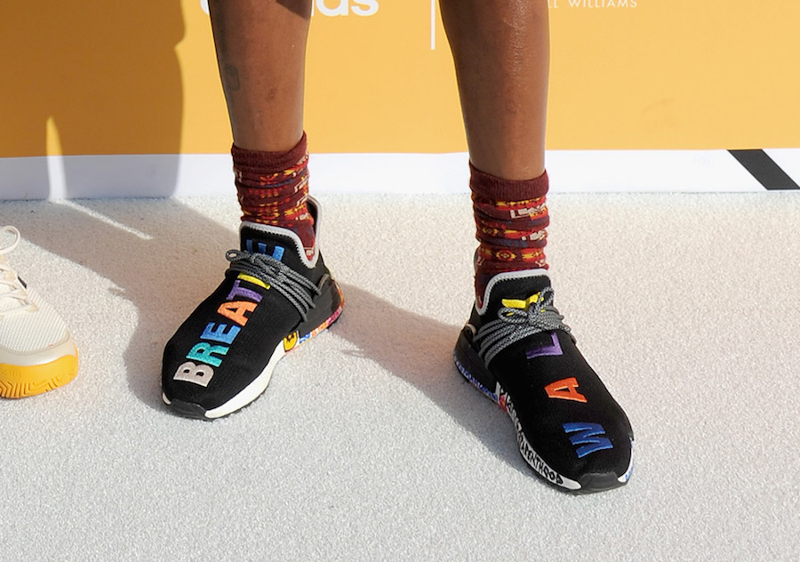 Pharrell adidas NMD Hu Multicolor