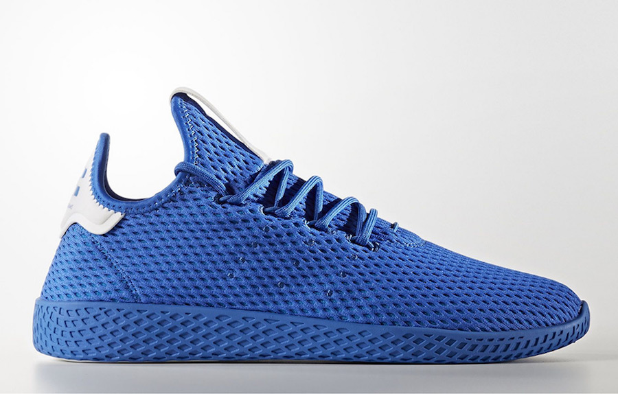 Pharrell adidas Tennis Hu Blue CP9766