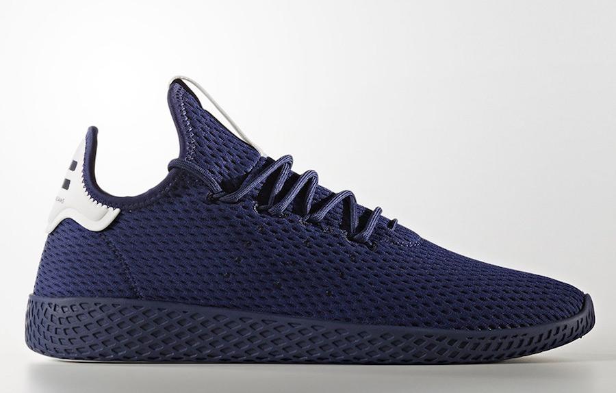 Pharrell adidas Tennis Hu Dark Blue Navy BY8719