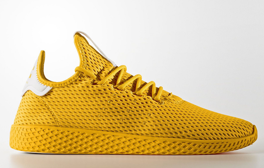 Pharrell adidas Tennis Hu Yellow Gold CP9667