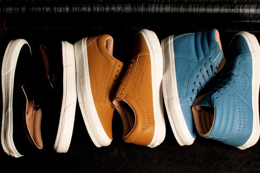 Proper Vans Vault Horween Leather Collection
