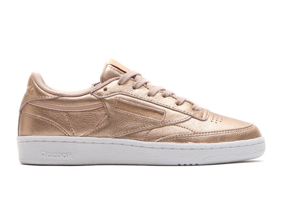 Reebok Club C Metallic Gold Peach BS7899