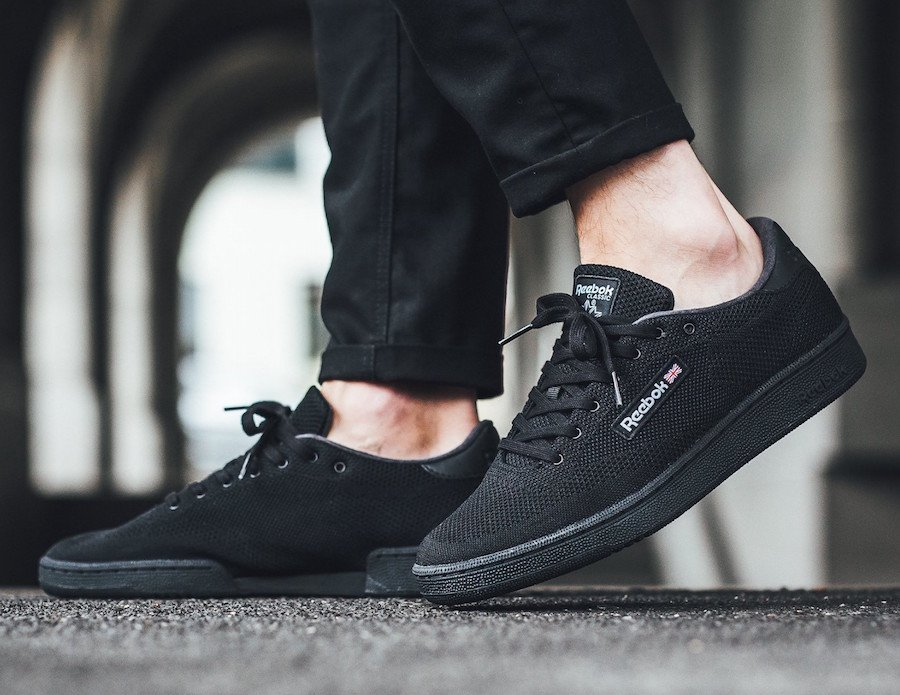 Reebok Club C UltraKnit Triple Black