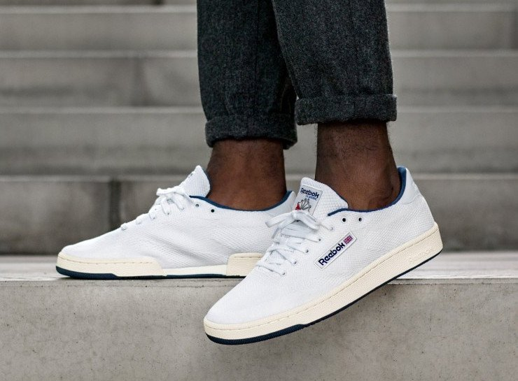 Reebok Club C UltraKnit White Navy