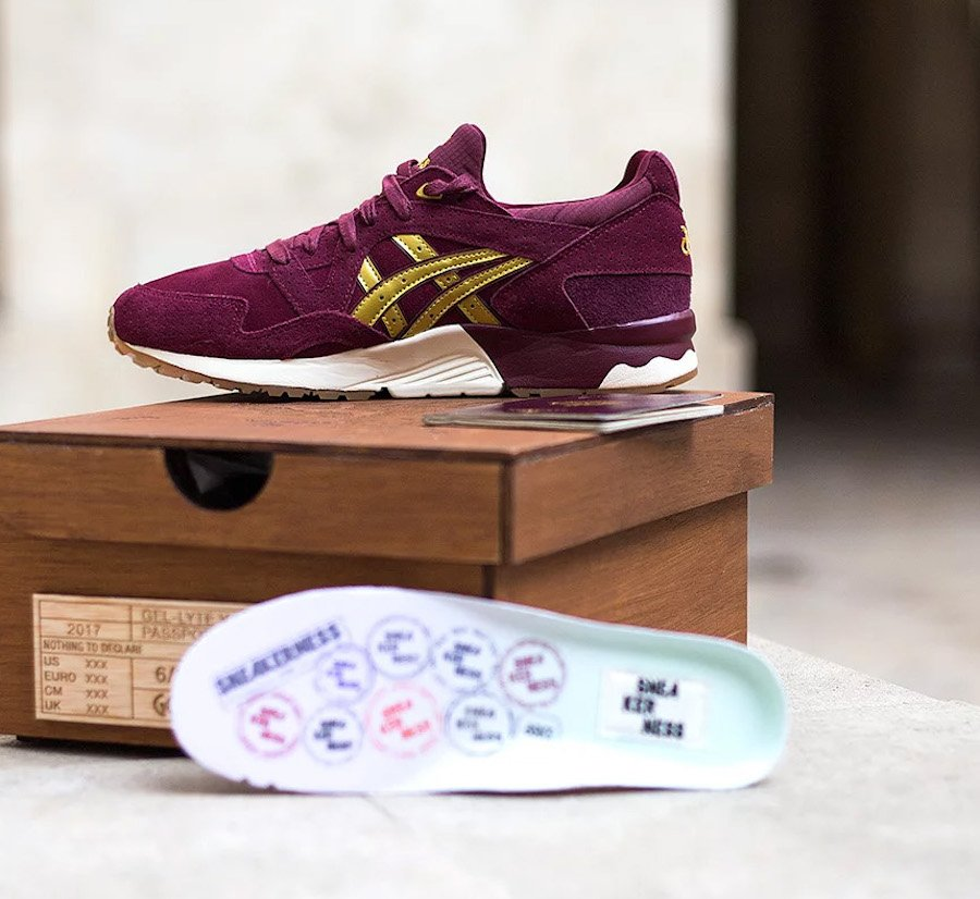 Sneakerness Asics Gel Lyte V Passport