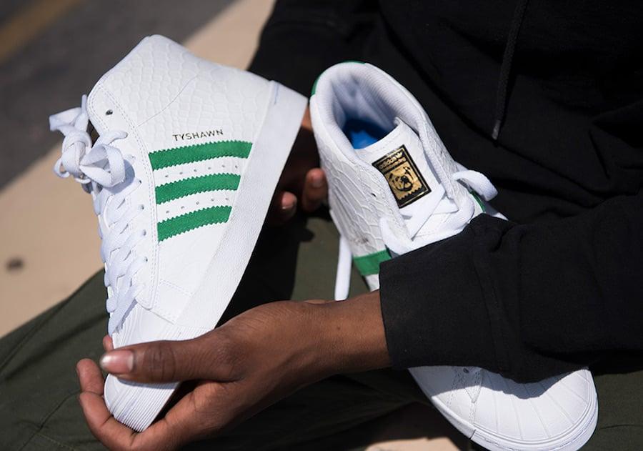 Tyshawn Jones adidas Pro Model Vulc ADV