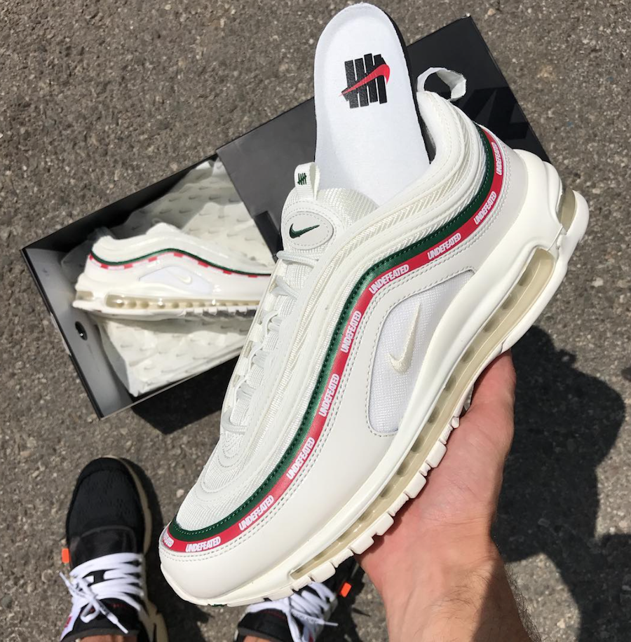 Undefeated Nike Air Max 97 White AJ1986-100