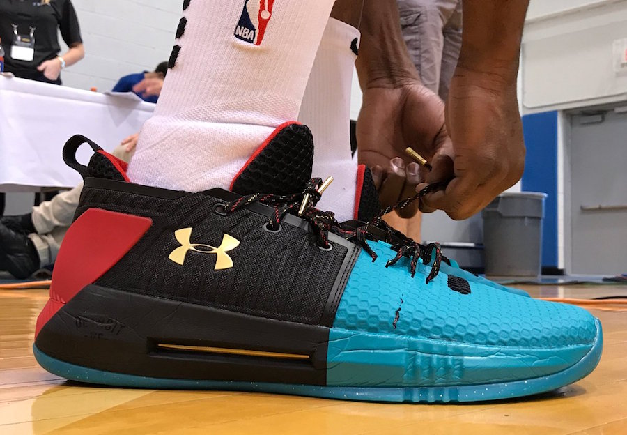 Under Armour Drive 4 Low Colorways
