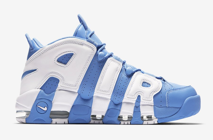 University Blue Nike Air More Uptempo 921948-401