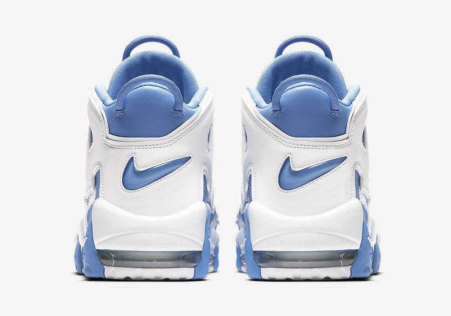 University Blue Nike Air More Uptempo 921948-401