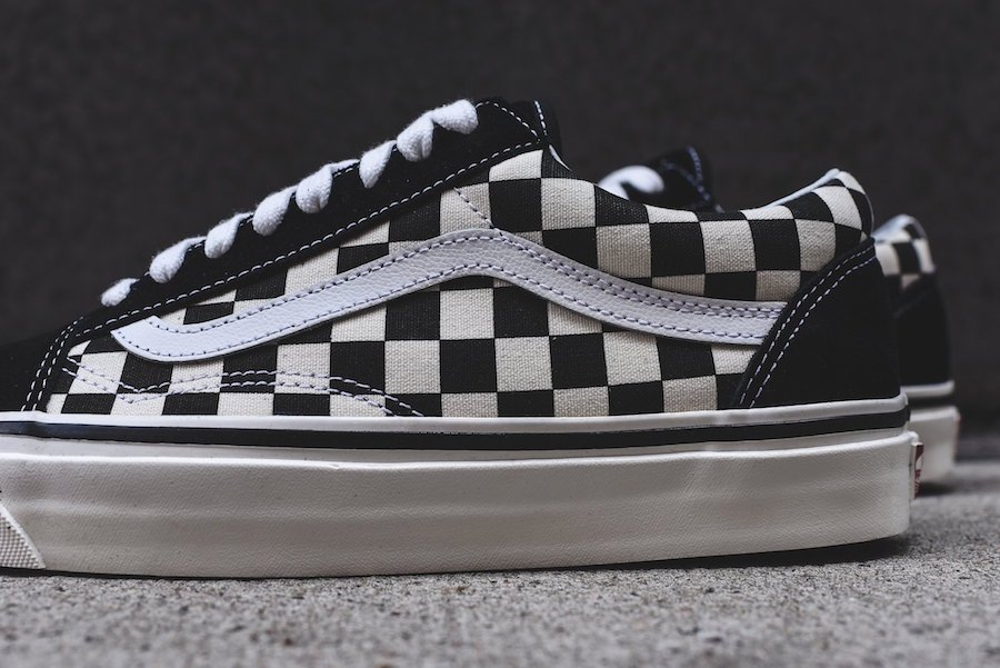 Vans Old Skool 36 DX Black Checkerboard