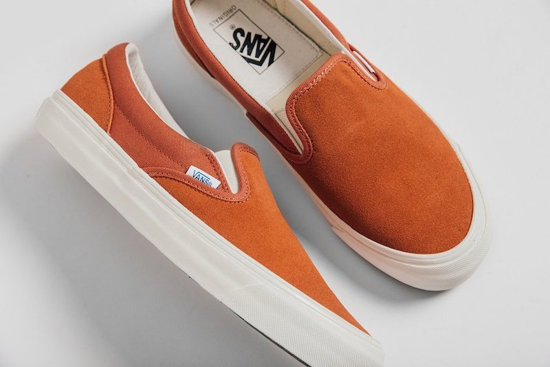 Vans Slip-On LX Suede Canvas Collection