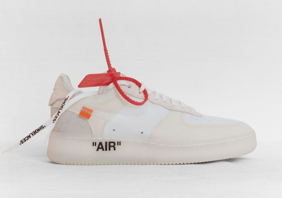 Virgil Abloh OFF-WHITE Nike Air Force 1