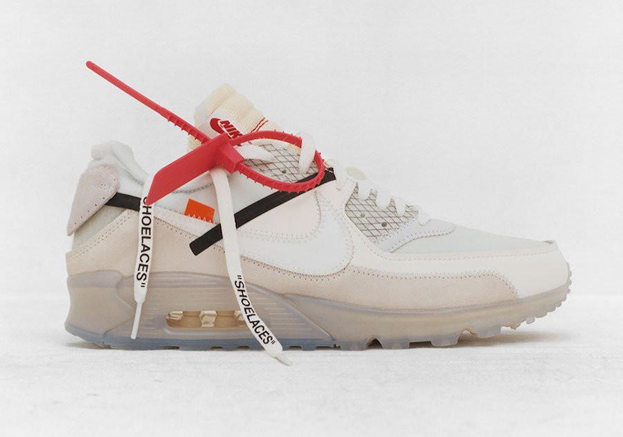 Virgil Abloh OFF-WHITE Nike Air Max 90