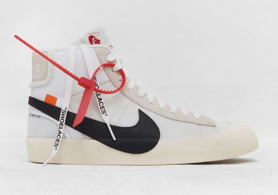 Virgil Abloh OFF-WHITE Nike Blazer
