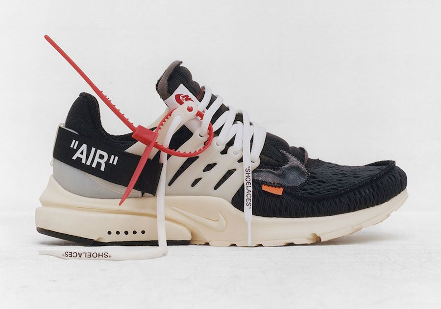 Virgil Abloh OFF-WHITE Nike Presto