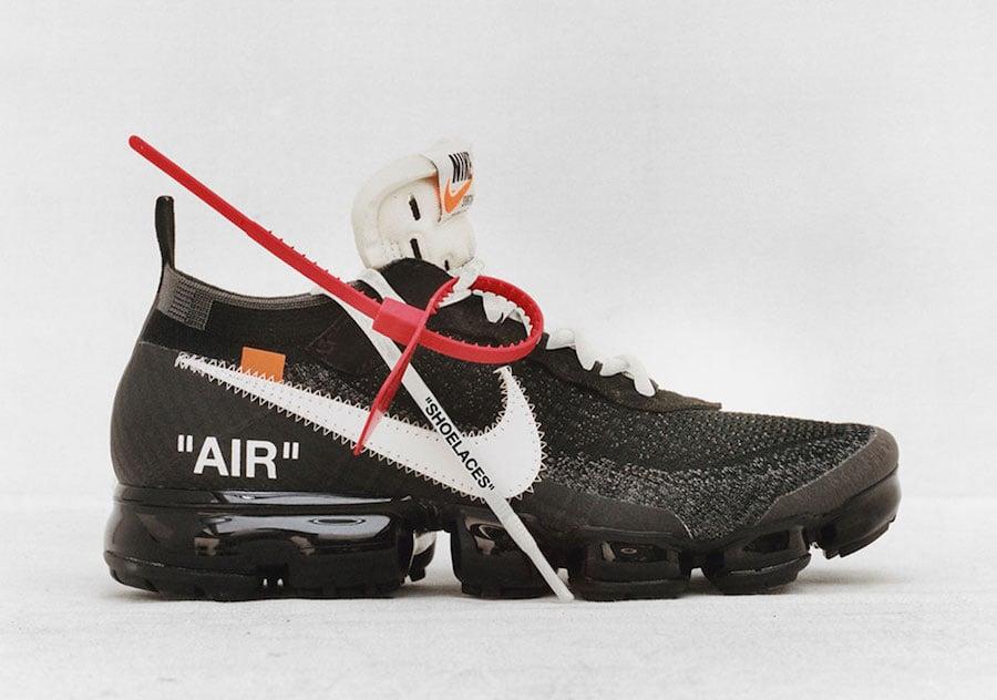 Virgil Abloh OFF-WHITE Nike VaporMax