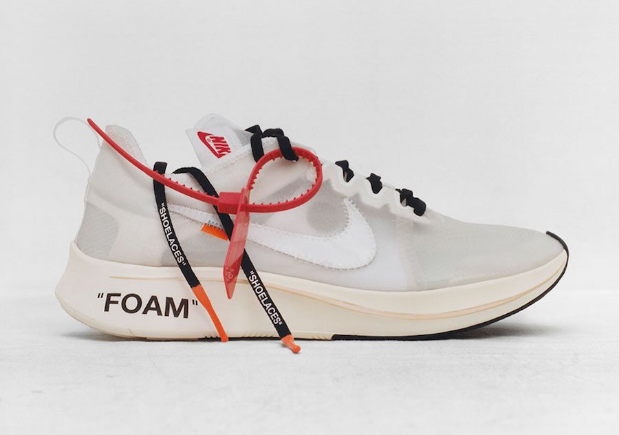 Virgil Abloh OFF-WHITE Nike Zoom Fly