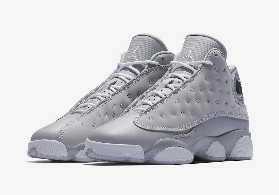 Air Jordan 13 GS 'Wolf Grey' Official Images