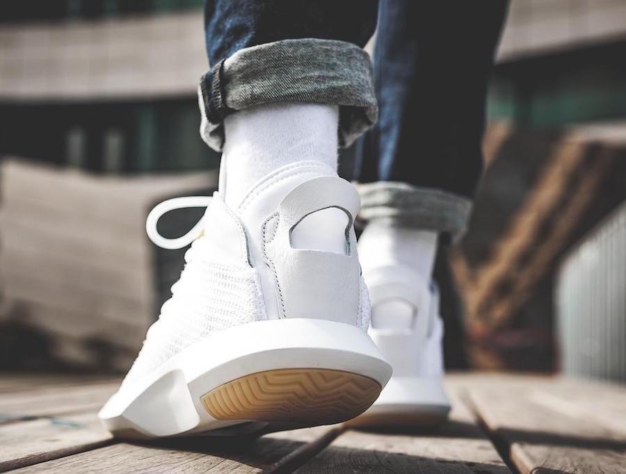 the latest 6f6fa 21e1d adidas Crazy 1 ADV Primeknit White CG4819 | SneakerFiles