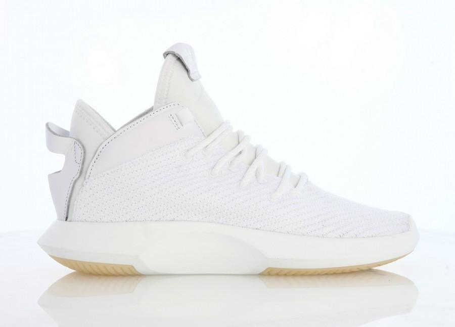wholesale dealer b15c3 1abb8 adidas Crazy 1 ADV Primeknit White
