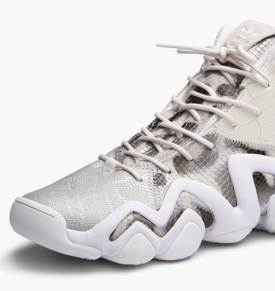 ac5cf6e2ffa low cost adidas crazy 8 adv white snake by4367 13ac7 d1600