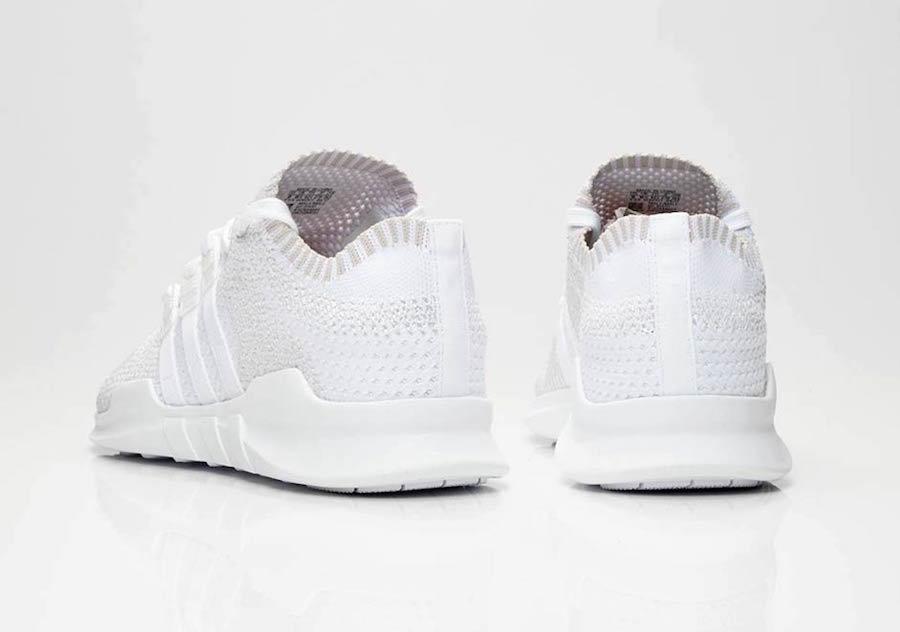 adidas EQT Support ADV Primeknit Triple White Release Date