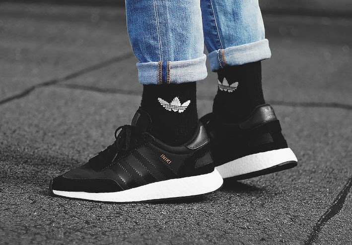 adidas Iniki Runner Boost Core Black