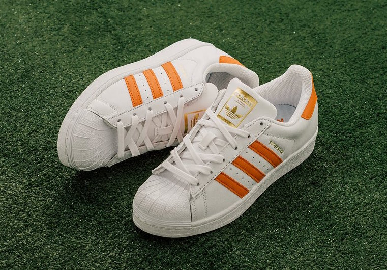 adidas Superstar Tactile Orange Ice Pink