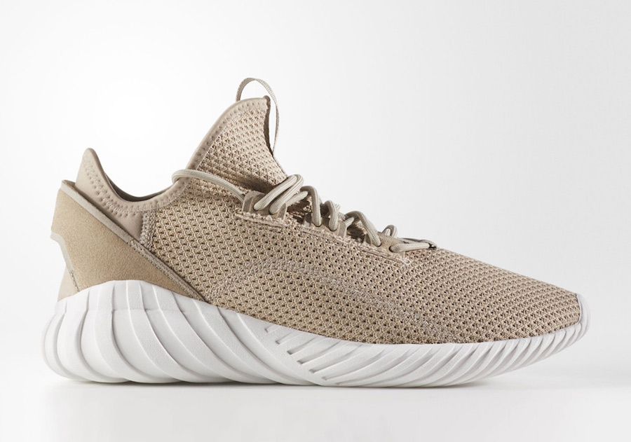 adidas Tubular Doom Sock Primeknit Tan Black