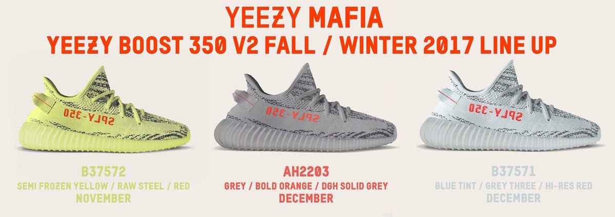 adidas Yeezy Release Date Change 2017