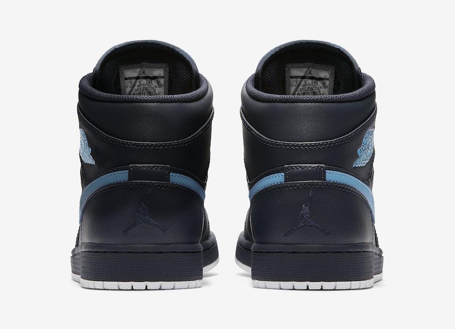 Air Jordan 1 Mid Obsidian Release Date