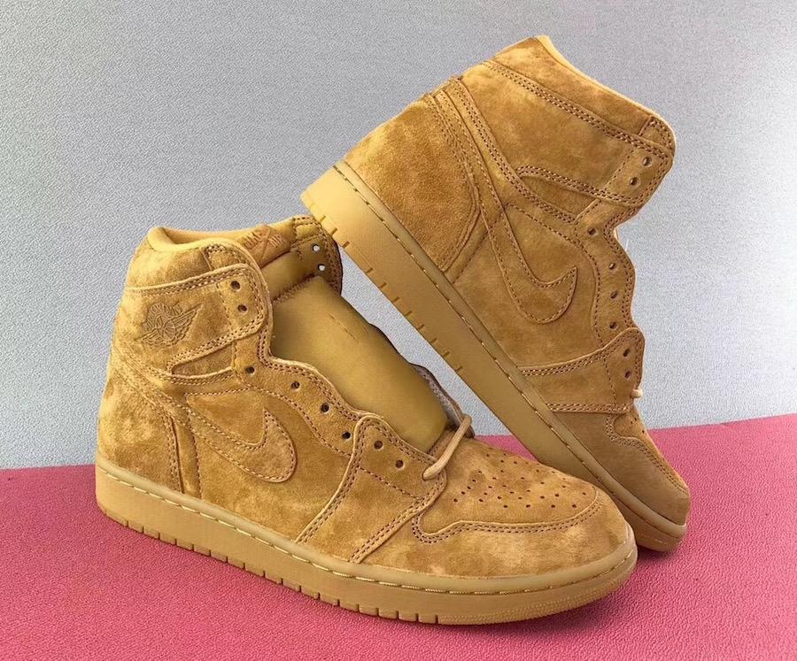 Air Jordan 1 Wheat 555088-710