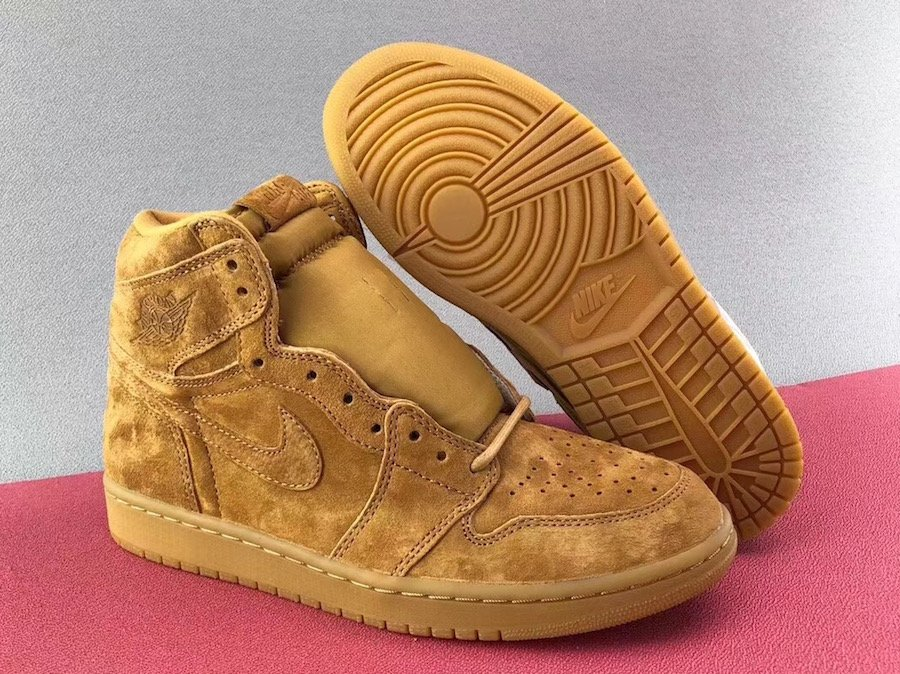 Air Jordan 1 OG Wheat Gum Gold 555088-710 Release Date  3bf8592a2a23