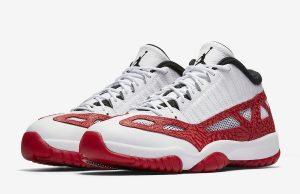 Air Jordan 11 Low IE Gym Red Release Date