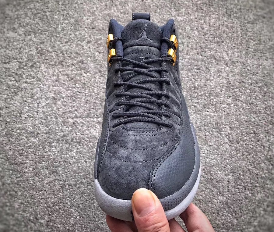 ef0a14743bcc Air Jordan 12 Dark Grey 130690-005 Release Date