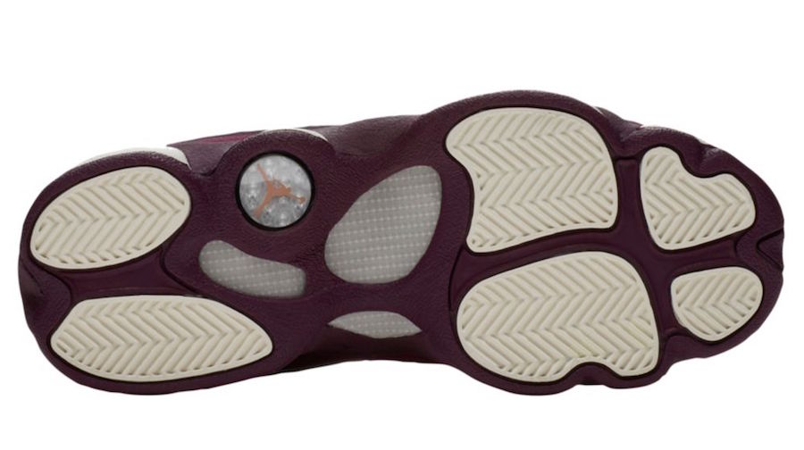 Air Jordan 13 GS Bordeaux Sail Release Date