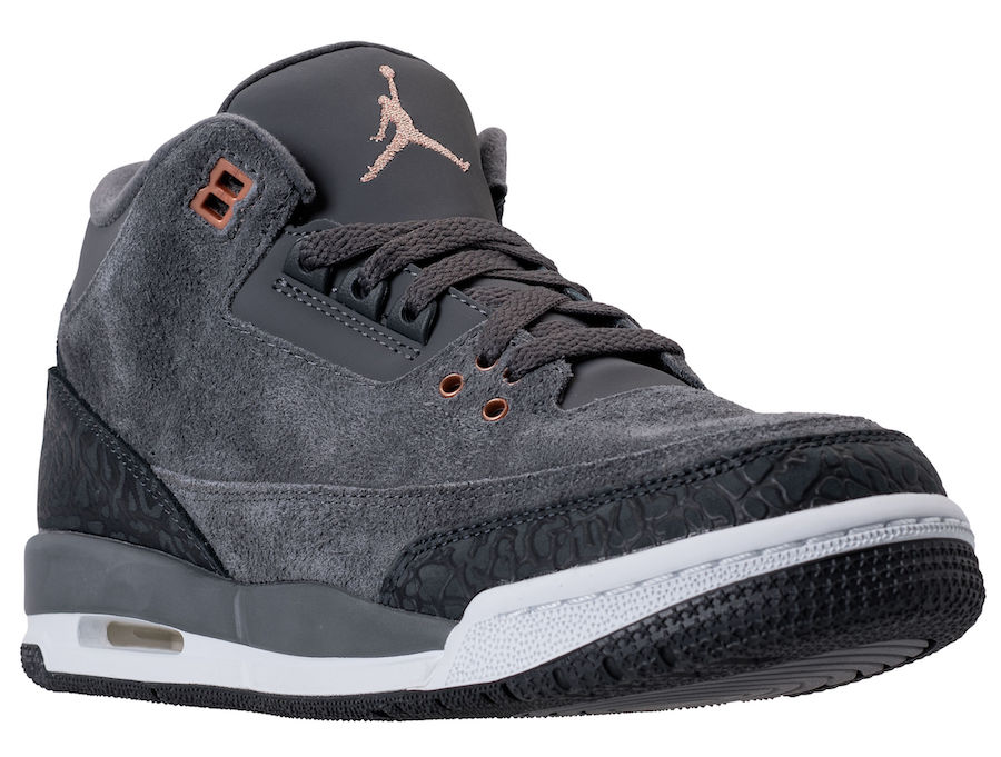 Air Jordan 3 Anthracite 441140-035