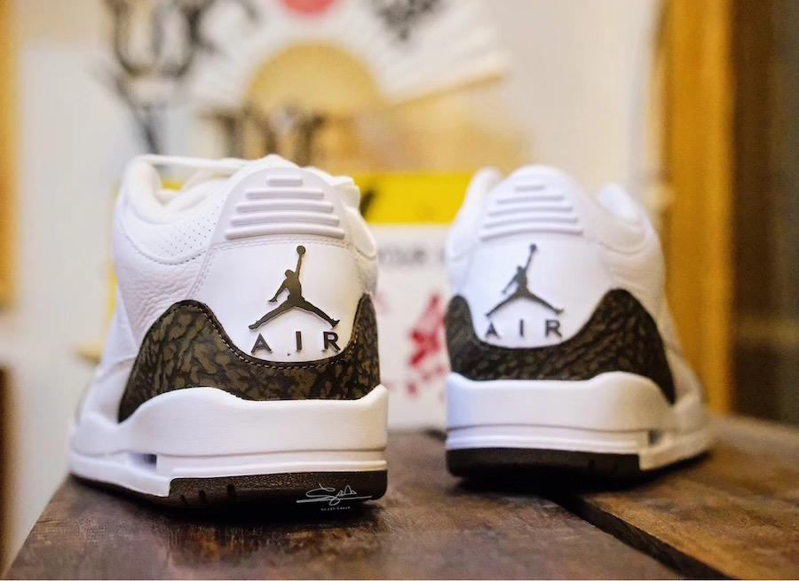 Air Jordan 3 Mocha 2018 136064-122