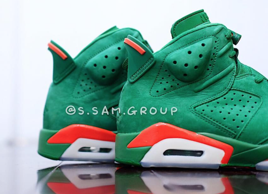 Air Jordan 6 Gatorade Green AJ5986-335