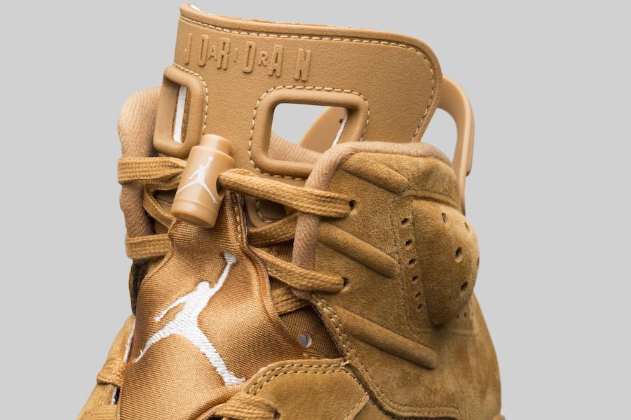 Air Jordan 6 Golden Harvest Elemental Gold 384664-705