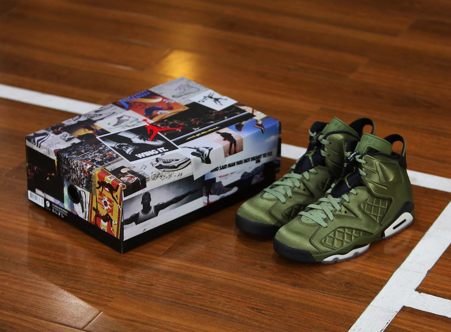 get online sale usa online delicate colors Air Jordan 6 Pinnacle Promo Jacket AH4614-303 | SneakerFiles