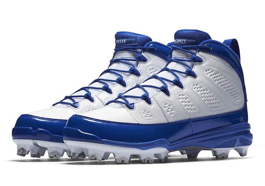 Air Jordan 9 MCS Cleat Blue