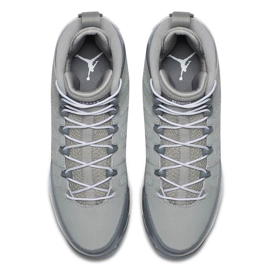 Air Jordan 9 MCS Cleat Cool Grey
