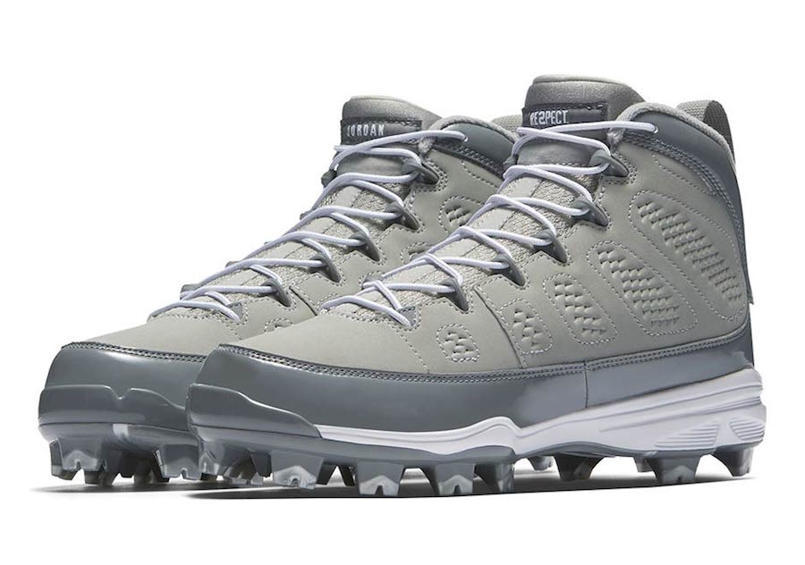 e4ddb09ae51 Air Jordan 9 Baseball Cleats Colors, Release Date | SneakerFiles