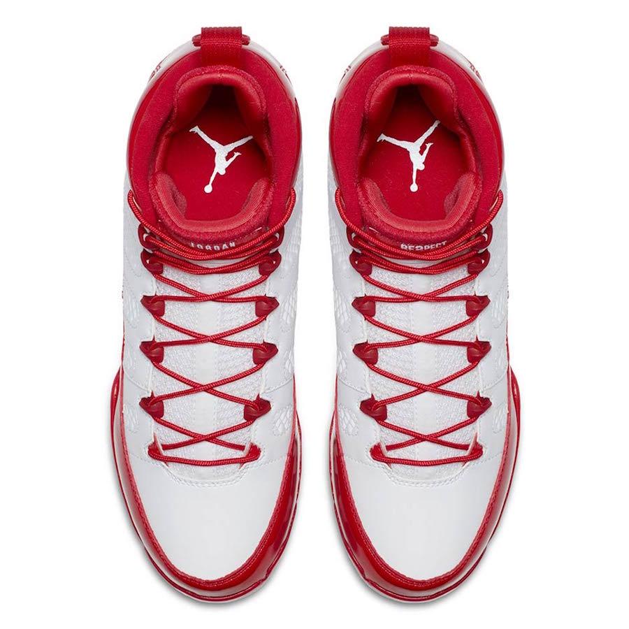 Air Jordan 9 MCS Cleat Red
