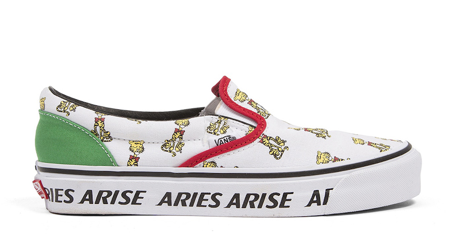 Aries Vans Collection Slip-On SK8-Hi