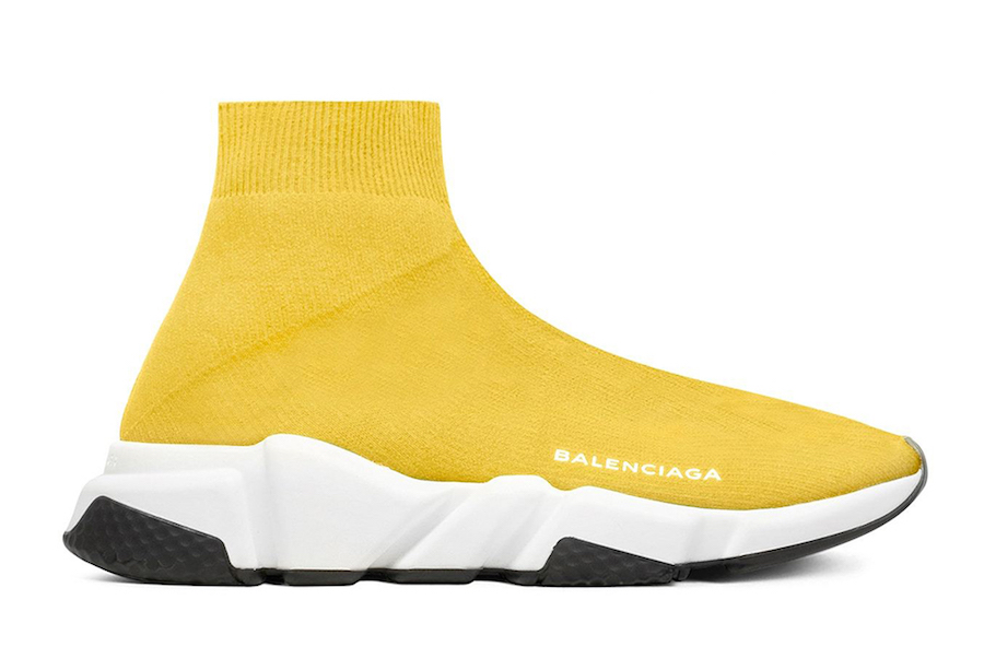 Balenciaga Speed Trainer Yellow